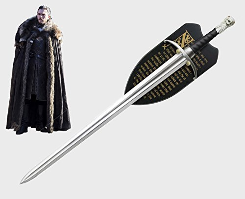 Il Nuovo Mondo Game of Thrones Lungo artiglio spada Jon Snow Mormont version