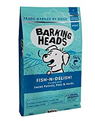 100% NATURAL SALMON AND TROUT- Our Fish-n-Delish dry dog food is made using natural salmon and trout blended with sweet potato, peas and herbs to make a super supper for your pooch NATURAL INGREDIENTS - This dry dog food recipe is made using only the...