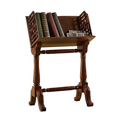 YLCJ boekenkast massief hout krantenrek sofa bijzettafel 60 * 35,8 * 92 cm