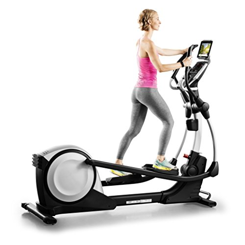 Proform Smart Strider 495 CSE Vélo elliptique pliable, compatible Bluetooth Appli iFit Cardio (abonnement en option), 18 programmes, 18 niveaux de résistance, Usage Sport, Fitness, Bien-être