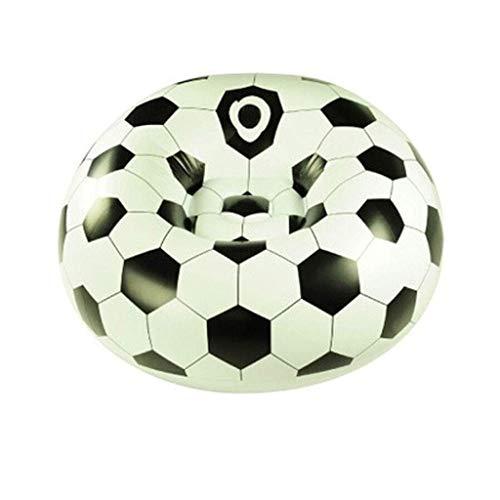Giow Haushalts-Luftmatratzen-Latex-Fußball-Einzelsofa-aufblasbare Liege-einzelner aufblasbarer Mittagspausen-Stuhl 110 X 80cm