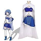 GNZY Anime Puella Magi Madoka Magica Miki Sayaka Cosplay Disfraces Vestido de Disfraces de Halloween para Mujer Uniforme Incluyendo Toda la Ropa y Accesorios.
