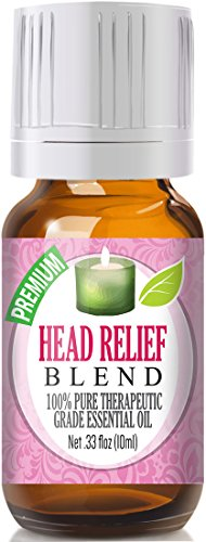 Head Relief Blend Essential Oil - 100% Pure Therapeutic Grade Head Relief Blend Oil - 10ml