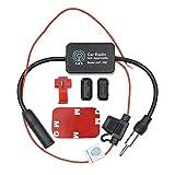 WEKON Amplificateur de Signal d'autoradio Universel DC10~15V Signal Amplificateur pour Voiture Camion