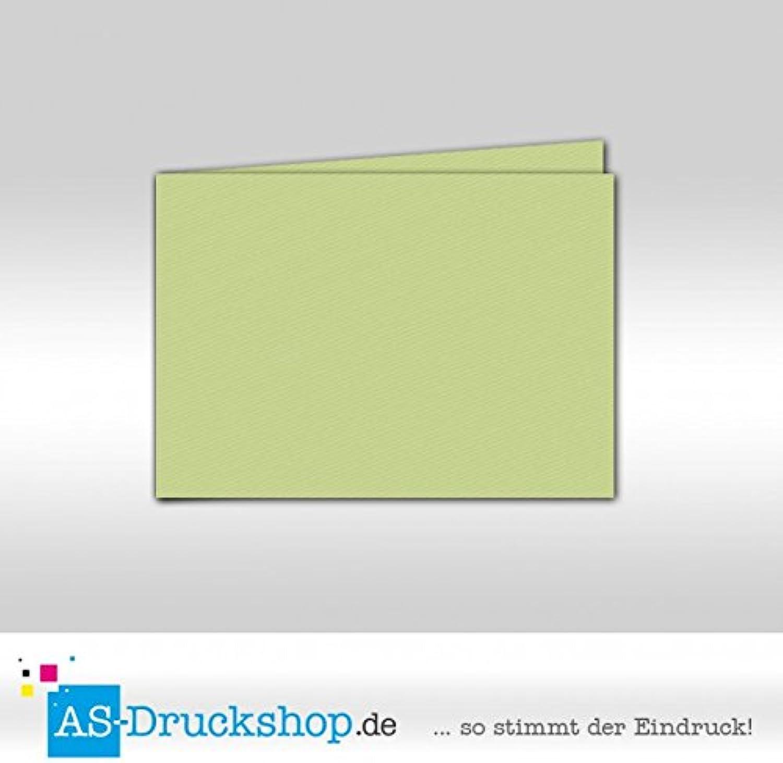 Faltkarte - Birkengrün 100 100 100 Stück DIN A6 quer B0794ZJD3X | Ruf zuerst  c95b53