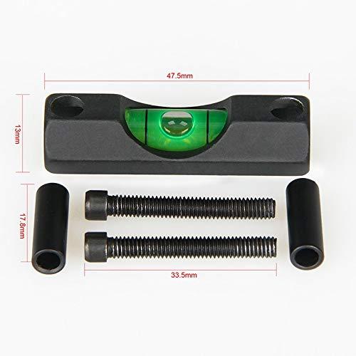 FMN-OUTILS, Niveau tactique de bulle de lunette de visée de tube de lunette de carabine de 30mm pour les portées de chasse