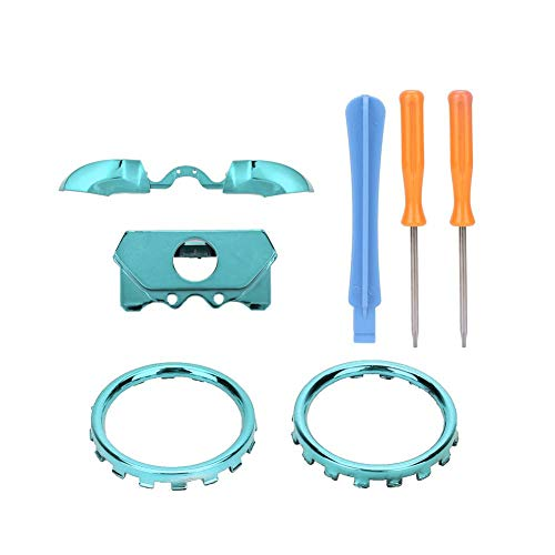 Thumbstick Accent Rings, ELITE-versie 3D-vervangingsring Verzink Thumbstick Accent Rings Kit voor X-BOX ONE (Sky Blue)