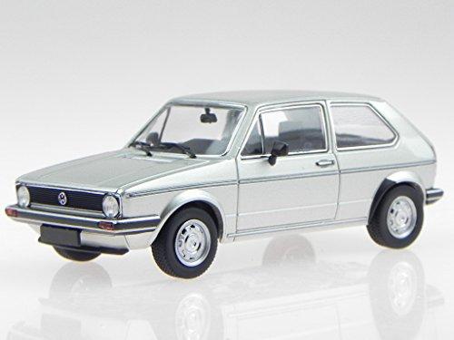 VW Golf 1 2-Türer 1980 diamant silber Modellauto 400055101 Minichamps 1:43