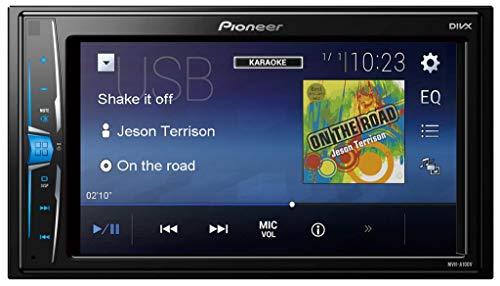 Pioneer MVH-A100V Pantalla Multimedia, Negro