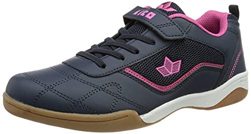 Lico Sloan VS Mädchen Sneaker, marine/pink, 36 EU