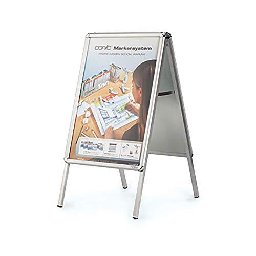 magnetoplan 61 Ersatzfolie-Set für Plakatständer SP A2