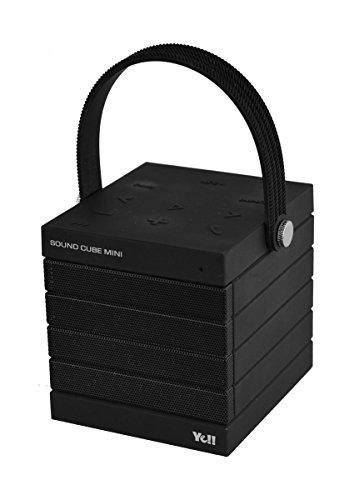 Silva Schneider P-BT 030 Bluetooth Lautsprecher Speaker Cube Mini Schwarz