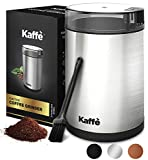 KF2020 Electric Coffee Grinder by Kaffe. Stainless Steel. 3oz Capacity. Easy On/Off Button. Cleaning...