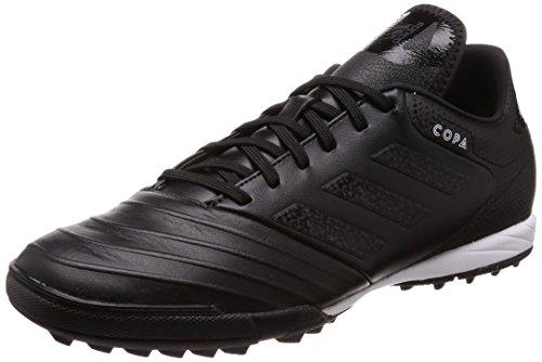 adidas Herren Copa Tango 18.3 TF Fußballschuhe, Schwarz (Negbás/Ftwbla 000), 40 EU