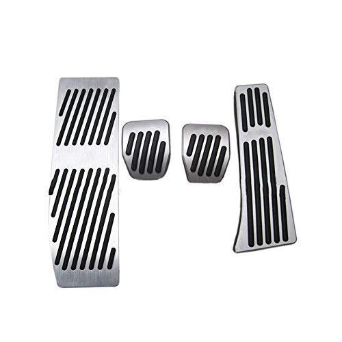 Auto Resto del Piede del combustibile Freno MT (Manual Transmission) Pedali, Antiscivolo Auto a Gas e Freno coperture del Pedale for BMW X1 E30 E36 E87 E46 E90 E91 E92 E93 Sostituzione 4 Pz