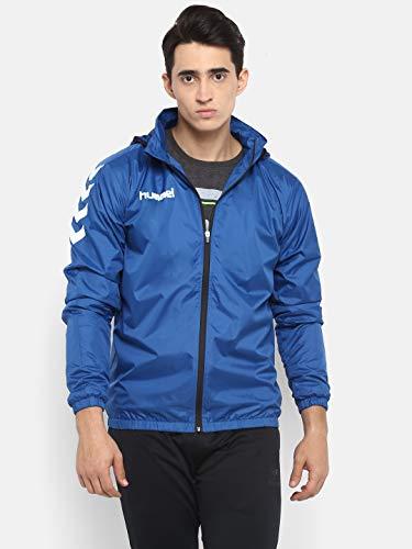 hummel Core Spray Jacket, Unisex Adulto, Azul, S