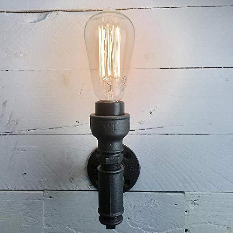 Retro Bar Restaurant Balkon Nostalgisch Edison Wandleuchte Amerikanische Einfache Kreative Persnlichkeit Loft Wasserleitung Licht, A