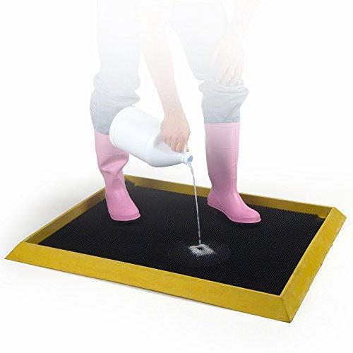 UltraSource 446010 High Wall Disinfectant Boot Dip Mat, 32