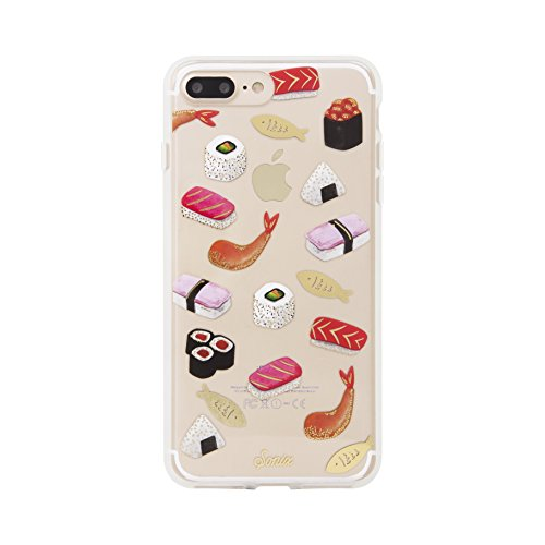 iPhone 8 PLUS / iPhone 7 PLUS, Sonix SUSHI Cell Phone Case - Military Drop Test Certified - Retail Packaging - SONIX Clear Case Series for Apple (5.5') iPhone 7 PLUS, iPhone 8 PLUS
