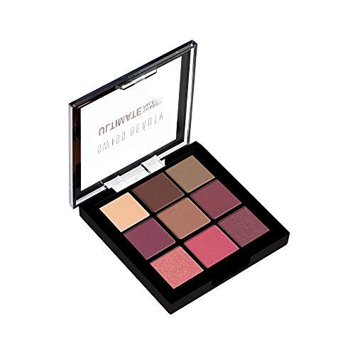 Swiss Beauty Ultimate 9 Color Eyeshadow Palette, Eye MakeUp, Multicolor-01,...