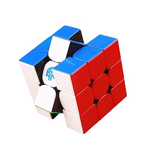 GAN356 RS 3 x 3 x 3 cm, sin pegatinas, profesional 3 x 3 x 3 Gan 356 R S Cubo mágico, rompecabezas juguetes educativos para niños