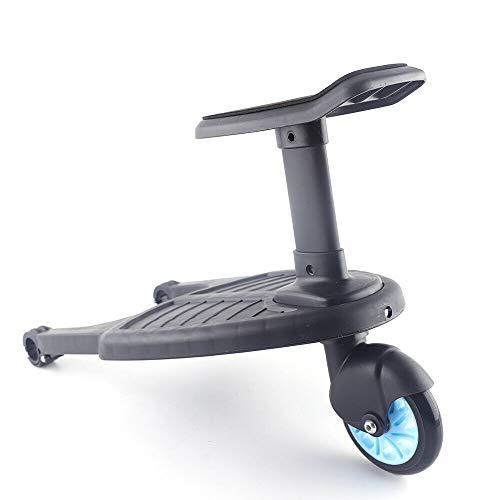 Buggyboard sitz für Kinderwagen Board Trittbrett Kinder Ab 15 Monaten (Max 25Kg), Blau