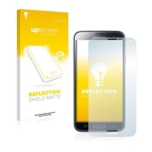 upscreen Entspiegelungs-Schutzfolie kompatibel mit Samsung Galaxy S5 Duos LTE SM-G900FD – Anti-Reflex Displayschutz-Folie Matt