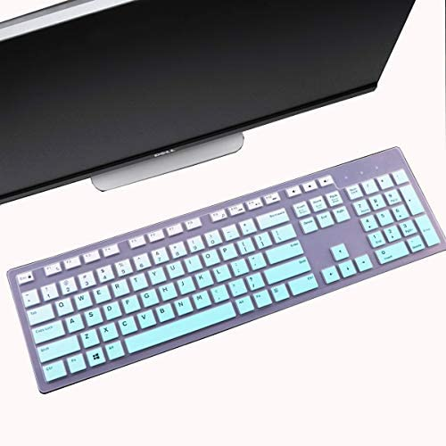 Keyboard Cover Skin Fit Dell KM636 Wireless Keyboard Dell KB216 Wired Keyboard Dell Optiplex product image