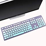 Keyboard Cover for Dell KM636/KB216/Dell Optiplex 5250 3050 3240 5460 7450 7050/Dell Inspiron 3475/3670/3477 Dell Inspiron 27 7000 7700 7790, Inspiron 24 5000 5400 5490 All-in-One Keyboard Cover-MG