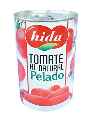 Hida Tomate Al Natural Pelado 390g x 6 Latas - Total: 2340 g