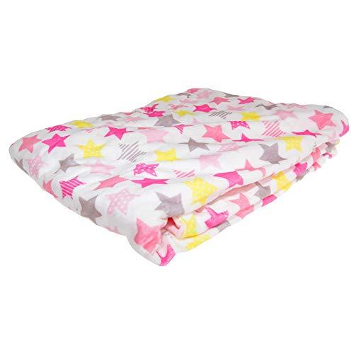 Snuggle Baby - Châle STAR - Bébé (75 cm x 100 cm) (Rose)