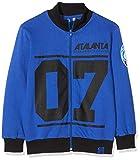 Atalanta B.C. Sudadera con Cremallera Atalanta 07 Azul Royal – Sudadera con Cremallera Atalanta 07 Azul Royal Niño, Niños, FLAT4ZIPBLKID10, Turquesa, 8 años
