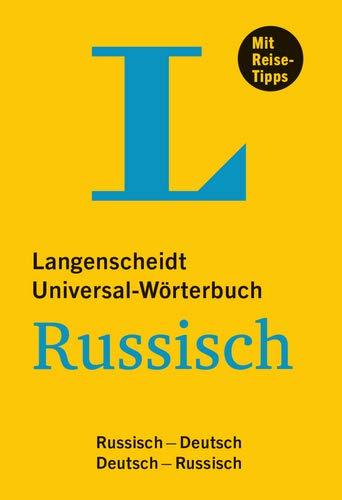 Langenscheidt Universal-Wörterbuch Russisch - mit Tipps für die Reise: Russisch-Deutsch/Deutsch-Russisch: Langenscheidt Universalworterbuch Russi (Langenscheidt Universal-Wörterbücher)