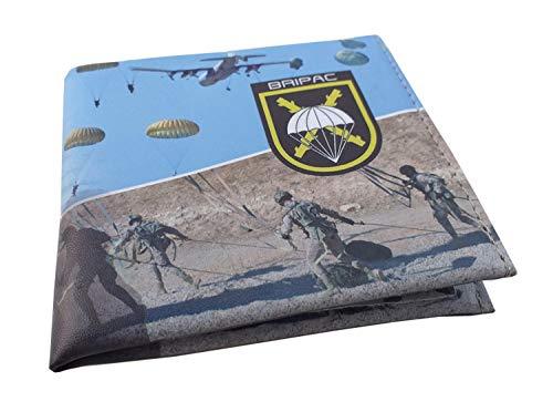 Cartera Impresa con Billetera Brigada Paracaidista Fotografias 3D ⭐