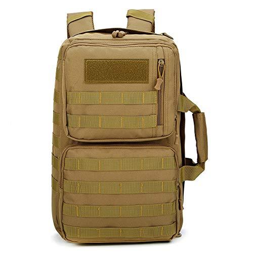 QXbecky Mochila senderismo bolsa de senderismo bolsa de viaje al aire libre mochila táctica para hombres ropa de camuflaje pérdida de peso transpirable mochila deportiva bolso de color caqui 28x11x45m