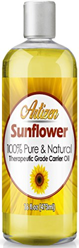 Artizen Sunflower Oil - (100% Pure & Cold Pressed) - 16oz Bottle