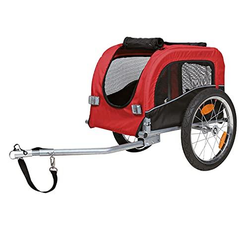 Trixie 12813 Fahrrad-Anhänger, S: 53 × 60 × 60/117...