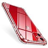 AROYI iPhone 11 / iPhone XIR Hülle, Transparent Silikon TPU Soft Premium Case Anti-Kratzer...