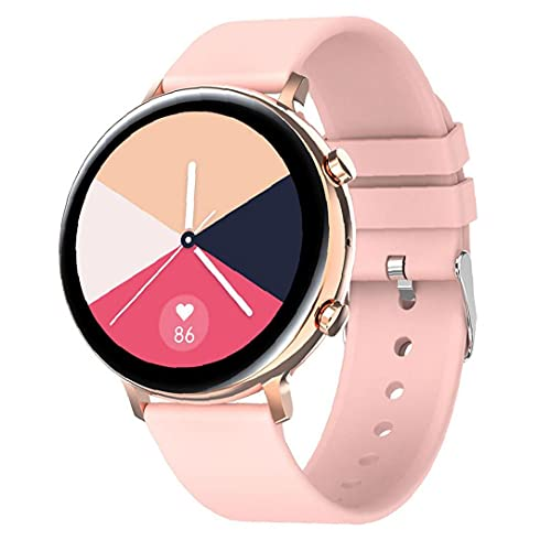 Llamadas inteligente aptitud del reloj del perseguidor impermeable de la venda inteligente GW33 Bluetooth pantalla táctil del corazón pulsera Tasa de detección Deportes SmartWatch Hombres Mujeres rosa