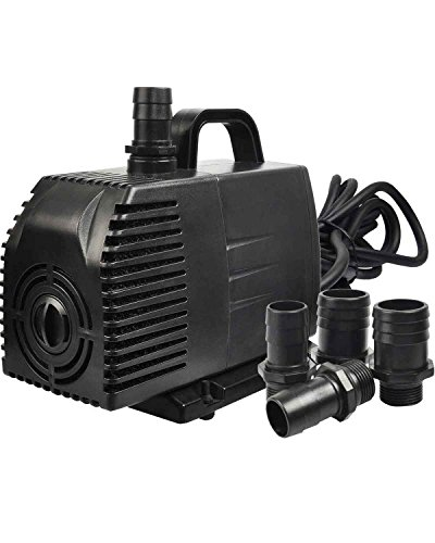 Simple Deluxe 1056 GPH Submersible Pump with 15' Cord, Water Pump for Fish...