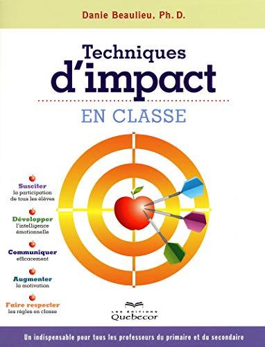 Techniques d'impact en classe 2ED