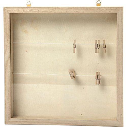 57453 Create Craft 3D-Rahmen mit Klammern, 23 x 23 cm