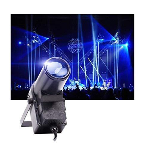 Luces LED para Fiestas de Escenario, 30W Foco de Escenario DMX 512 RGBW Luces de Discoteca Efecto de proyector para cumpleaños, Bodas, Baile, Fiestas, espectáculos