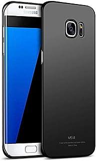 Back case for Samsung Galaxy S6 Edge Plus Hard matte Tpu Cover,Black