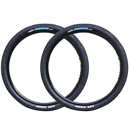 LDFANG Neumático de Bicicleta (Paquete de 2) 26 * 1,90, 27,5 * 1,95 Neumático a Prueba de pinchazos, Adecuado para neumático de Bicicleta de montaña Neumático a Prueba de puñaladas