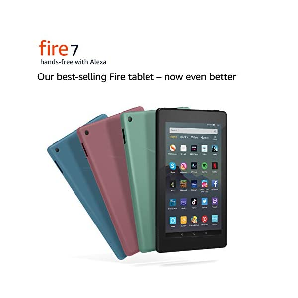 "Fire 7 Tablet | 7"" display, 16 GB, Black with Special Offers 6"
