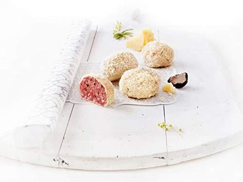 Saltufo® Salamikugeln mit Sommertrüffeln und Parmigiano-Reggiano 1 Pack mit 6x80g