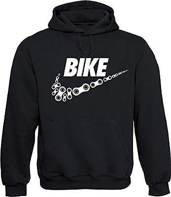 Baddery Hoodie: Bike, Schwarz, XXL