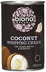 Certified Organic Suitable for Vegans BPA Free Dairy free alternative to traditional whipping cream Use to add the perfect finishing touch to all your favourite desserts, cakes & bakes.