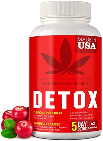 Complete Body Cleanse Made in United States Natural Healthy Cleansing Support for Liver Urinary product image